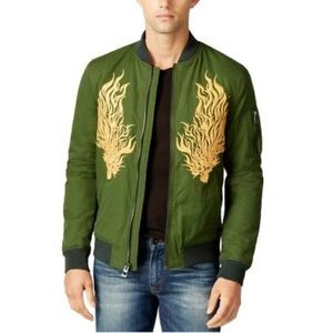 Explorer Embroider Bomber Jacket by Guess (Size L)